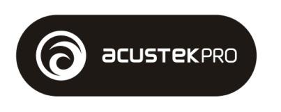 logo acustekpro b&w