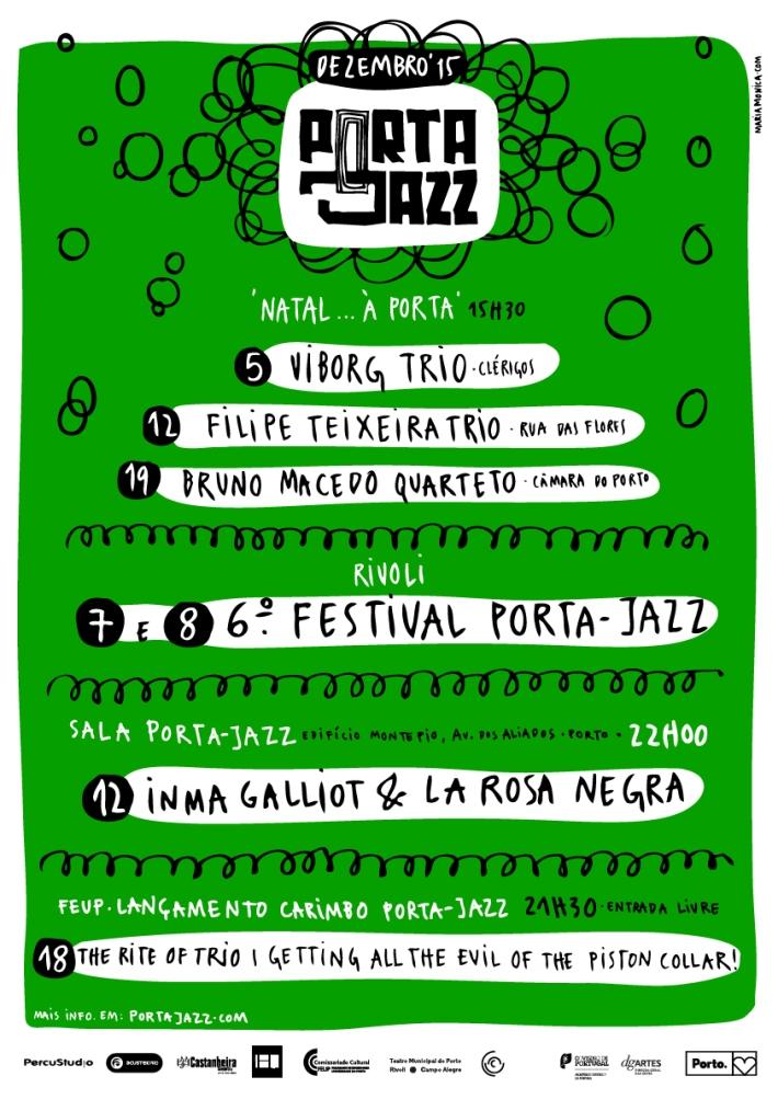 Cartaz Porta-Jazz Dezembro