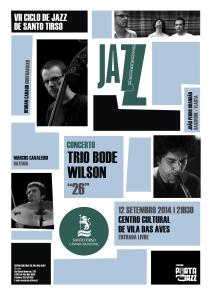 trio Bode Wilson - imagem de cartaz